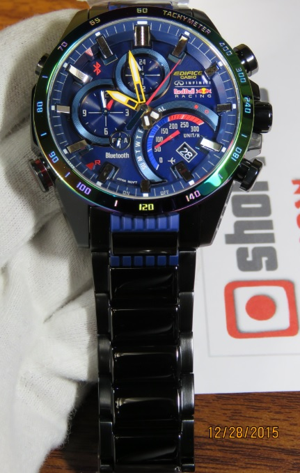 edifice casio eqb500rbb
