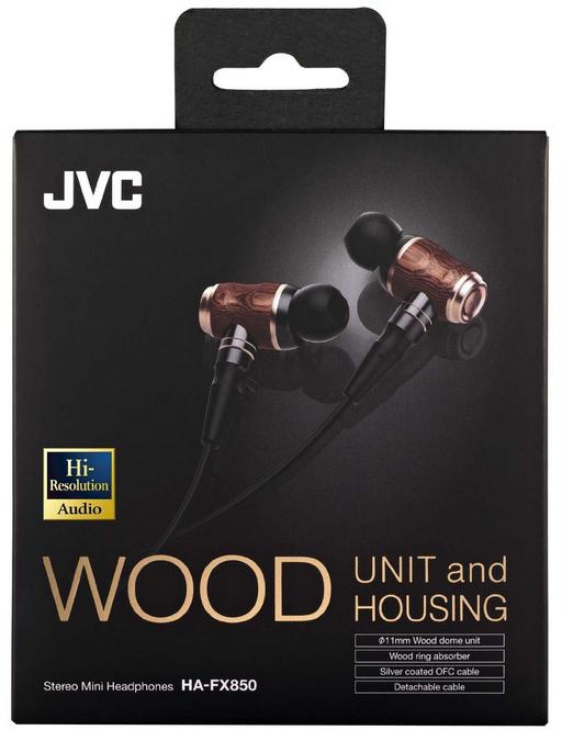JVC HA-FX850 Wooden In-Ear Headphones - Shopping In Japan NET