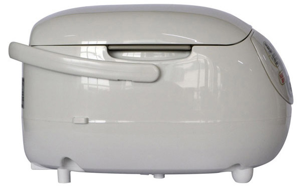side of rice cooker