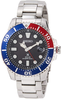 Seiko Prospex Diver Solar Pepsi Made In Japan SBDJ047