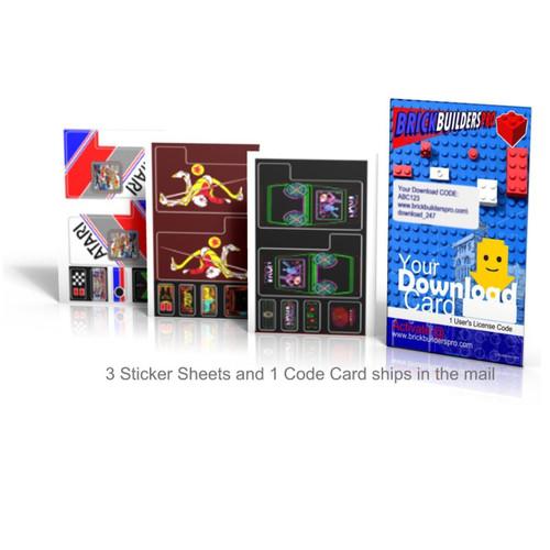 Stickers: Arcade 5, MACHINE GAMES Tron