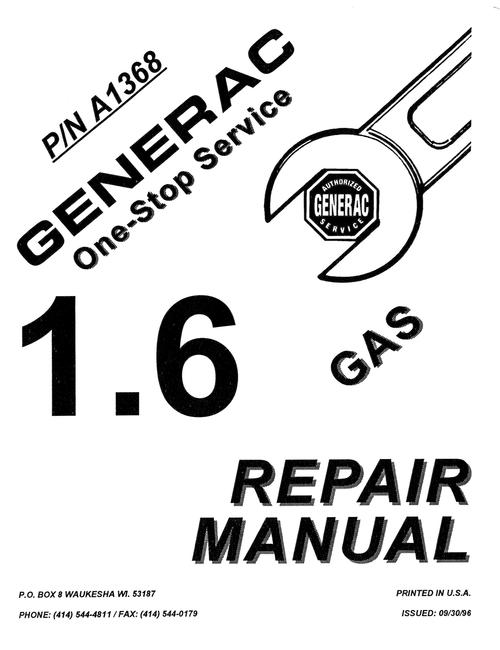 Generac Manuals