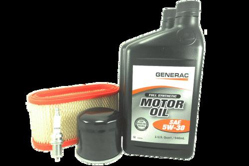 GENERAC SERVICE MAINTENANCE KIT 432CC GASEOUS 5W30 SYN OIL (0J57830SSM)
