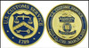 Legacy U.S. Customs Service Inspector Challenge Coin