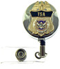 TSA Mini Badge Retractable ID Reel Badge Holder