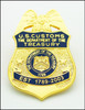 US Customs Service Inspector Lapel Pin