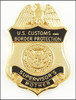 Customs and Border Protection Supervisor Mother Mini Badge Magnet