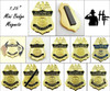 """Customs and Border Protection 1.25"""" Mini Badge Magnets"""