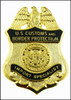 """Customs and Border Protection 1.25"""" Import Specialist Mini Badge Magnet"""