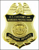 """Customs and Border Protection 1.25"""" Internal Affairs Mini Badge Magnet"""