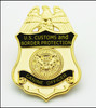 Customs and Border Protection Canine Officer Mini Badge Magnet