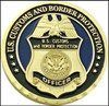 CBP Operation Over Flow Arizona Challenge Coin Back