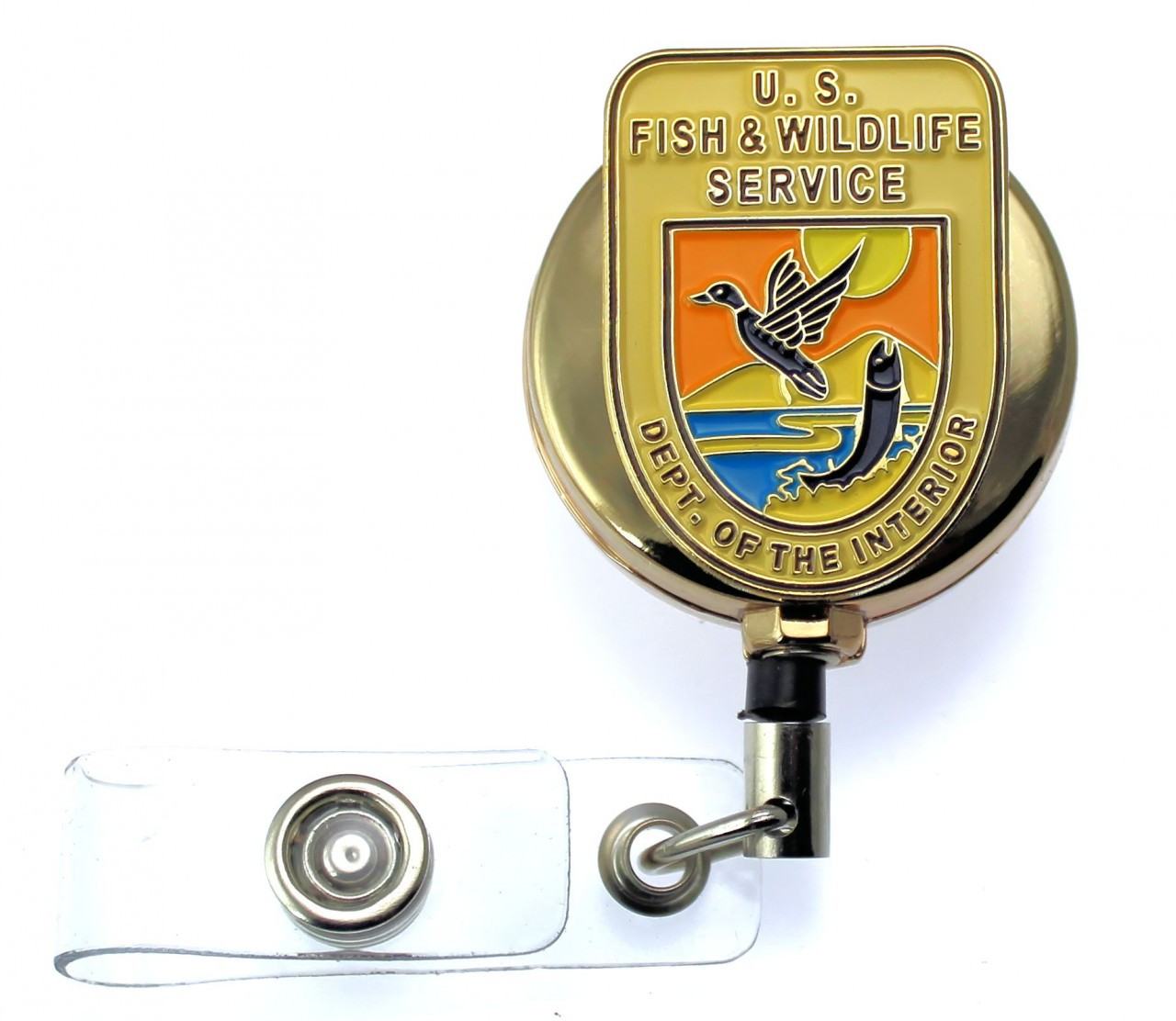 Fish and Wildlife Service - Inspector Mini Patch ID Reel