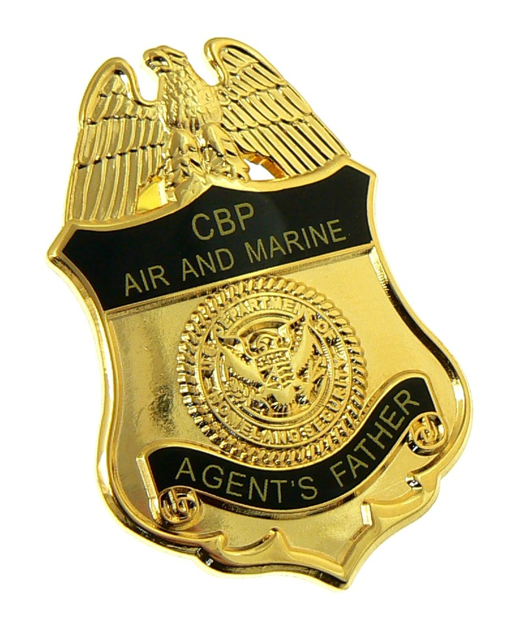 Office of Air and Marine Agent's Father Mini Badge Lapel Pin