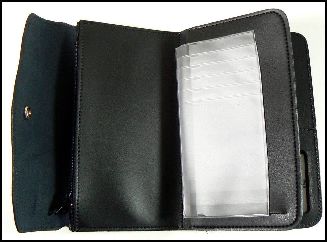 Customs and Border Protection Women's Badge and ID Wallet - Picture Pages