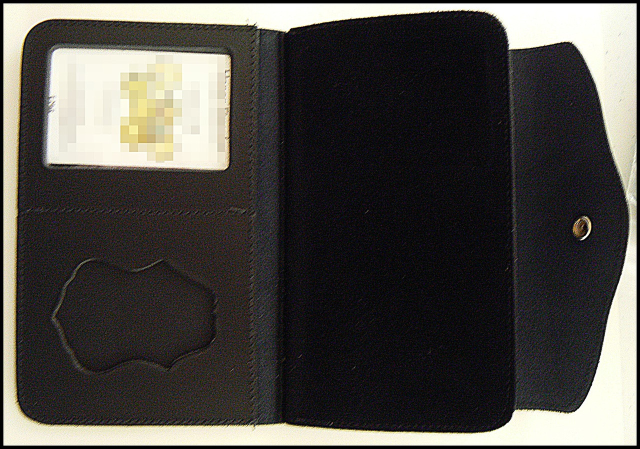Customs and Border Protection Women's Badge and ID Wallet - ID and Badge Holder