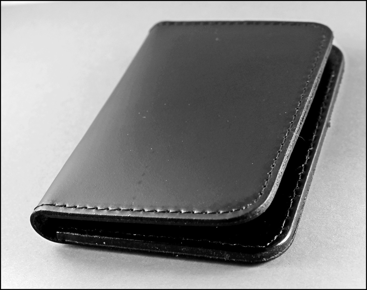 Immigration and Customs Enforcement Intelligence Officer Family Member ID Wallet closed view