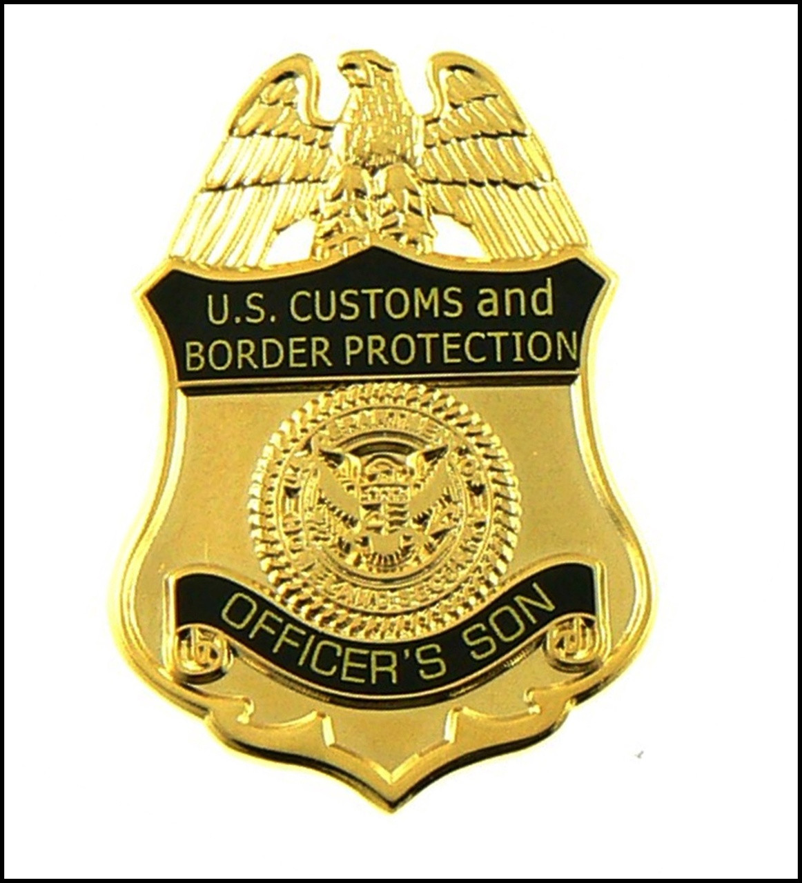 Customs and Border Protection Officers Son Mini Badge Magnet