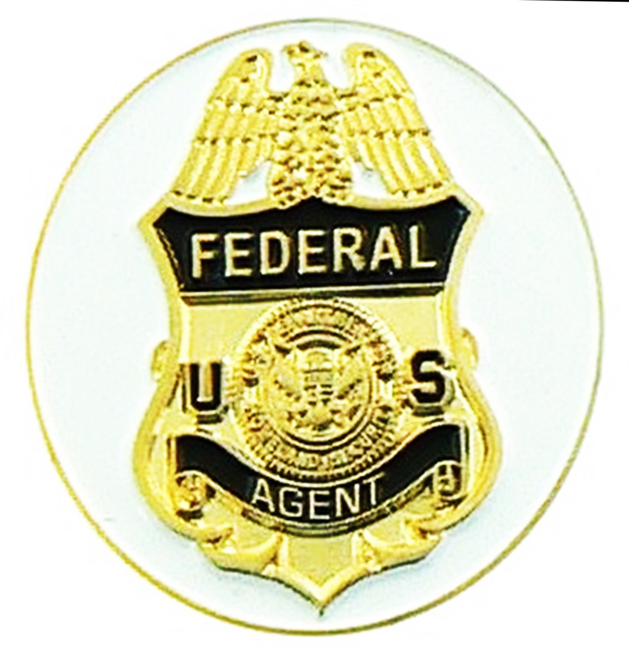 ICE Federal Agent Golf Ball Marker