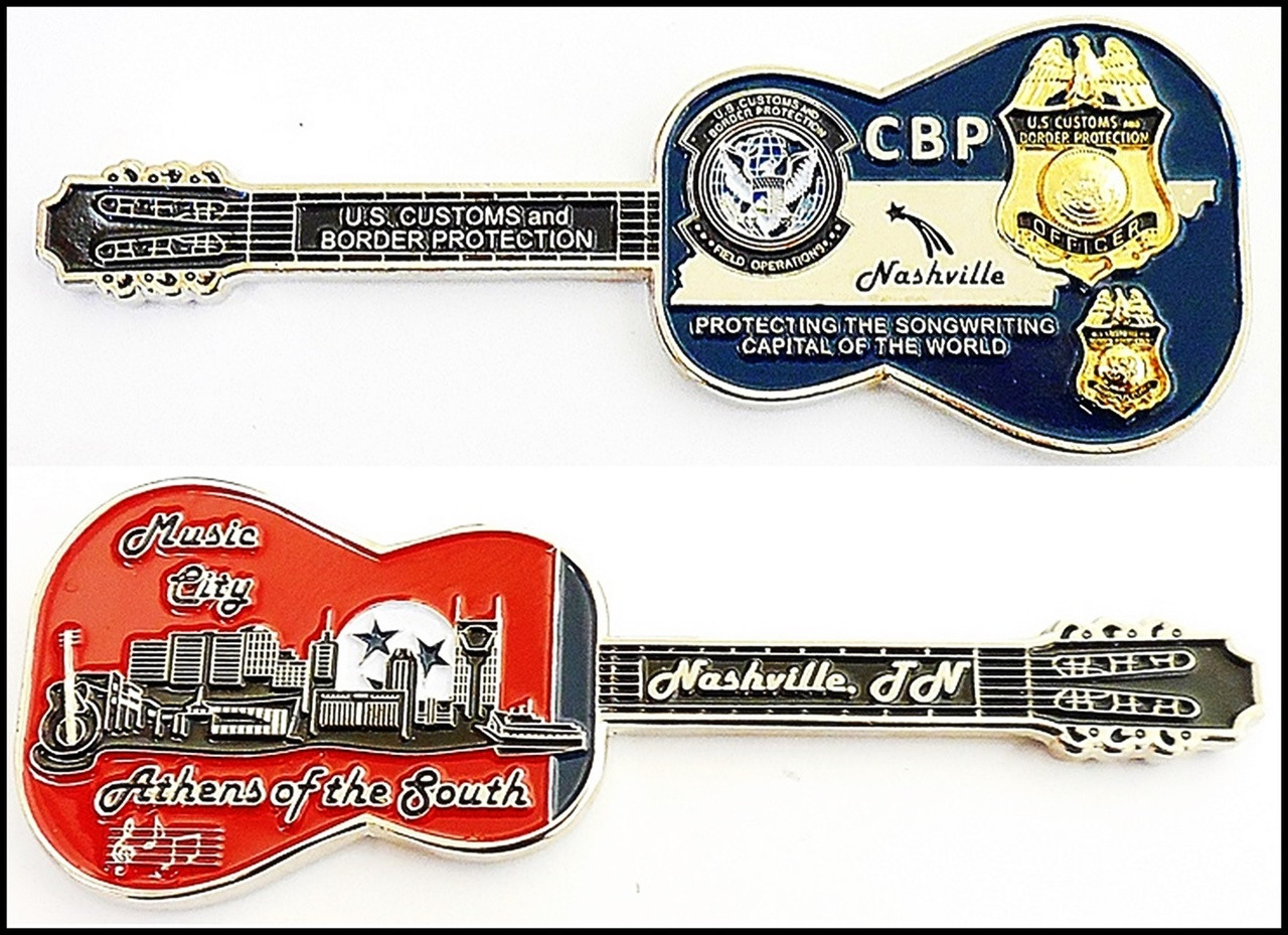 Customs and Border Protection Nashville Port of Entry Challenge Coin