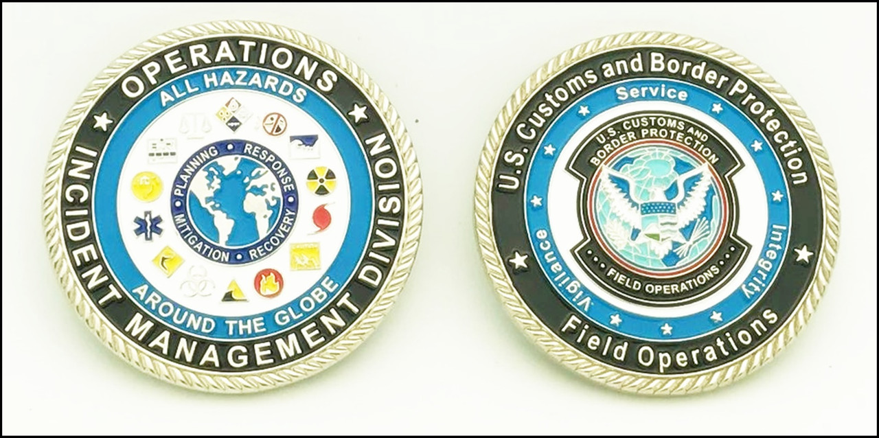 CBP Incident Management Challenge Coin