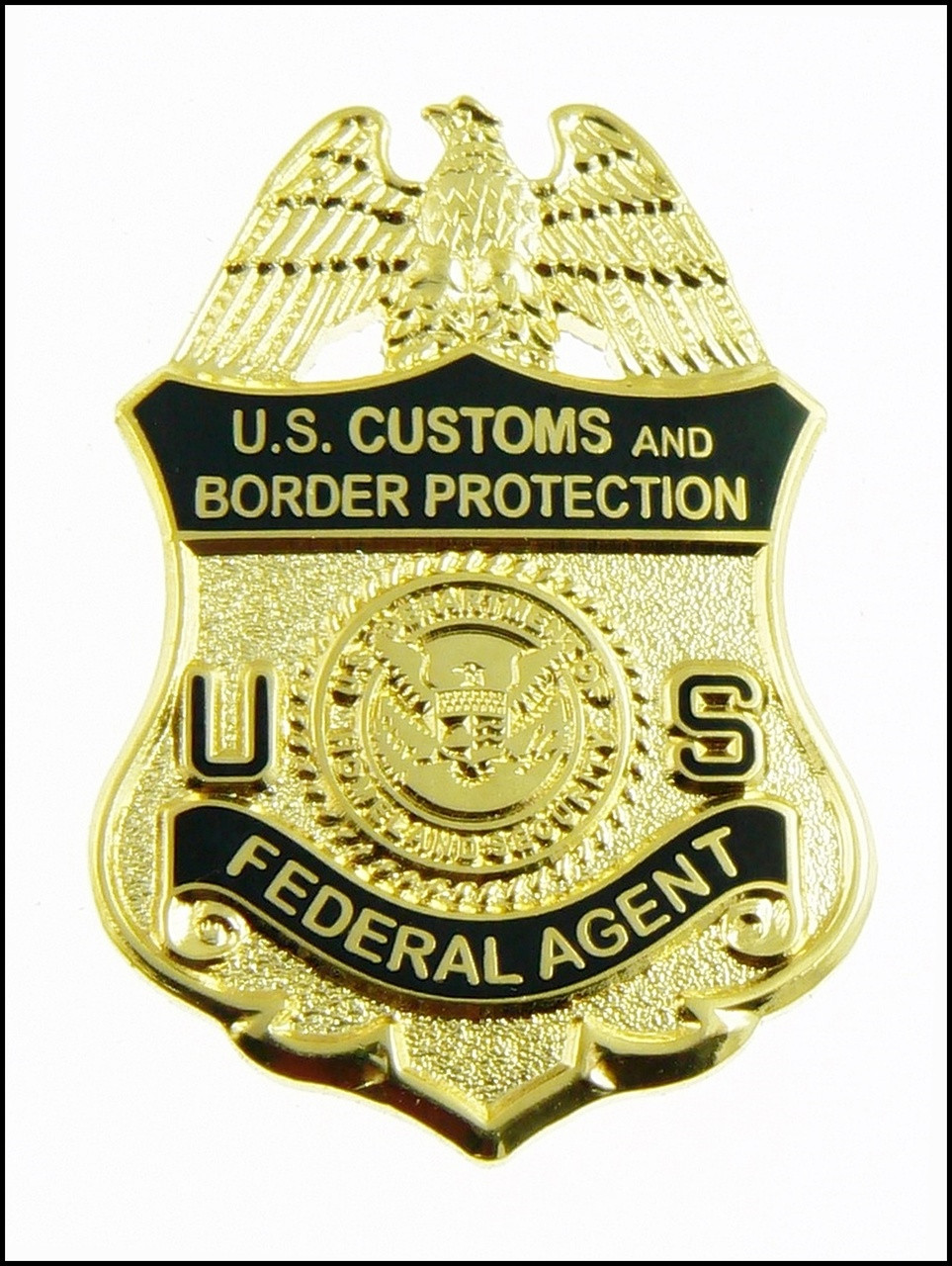 """Customs and Border Protection 1.25"""" Federal Agent Mini Badge Magnet"""
