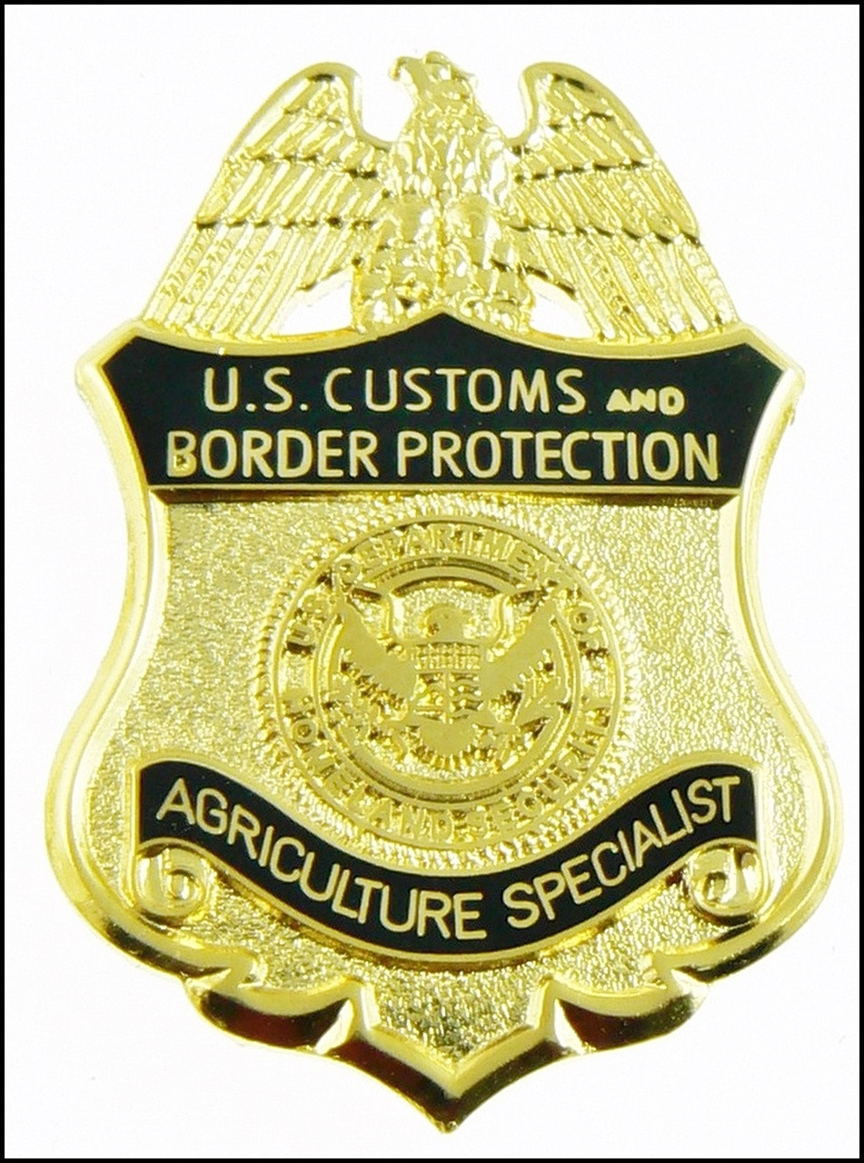 """Customs and Border Protection 1.25"""" Agriculture Specialist Mini Badge Magnet"""