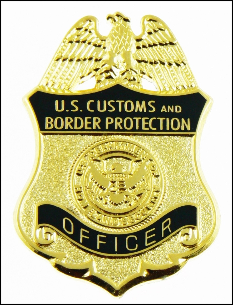 """Customs and Border Protection 1.25"""" Officer Mini Badge Magnet"""