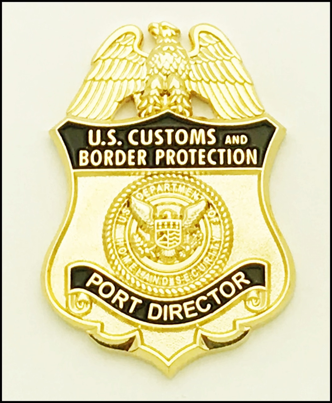 Customs and Border Protection Port Director Mini Badge Magnet
