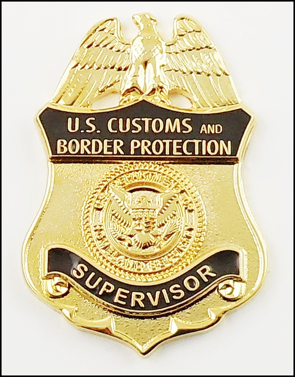 Customs and Border Protection Supervisor Mini Badge Magnet