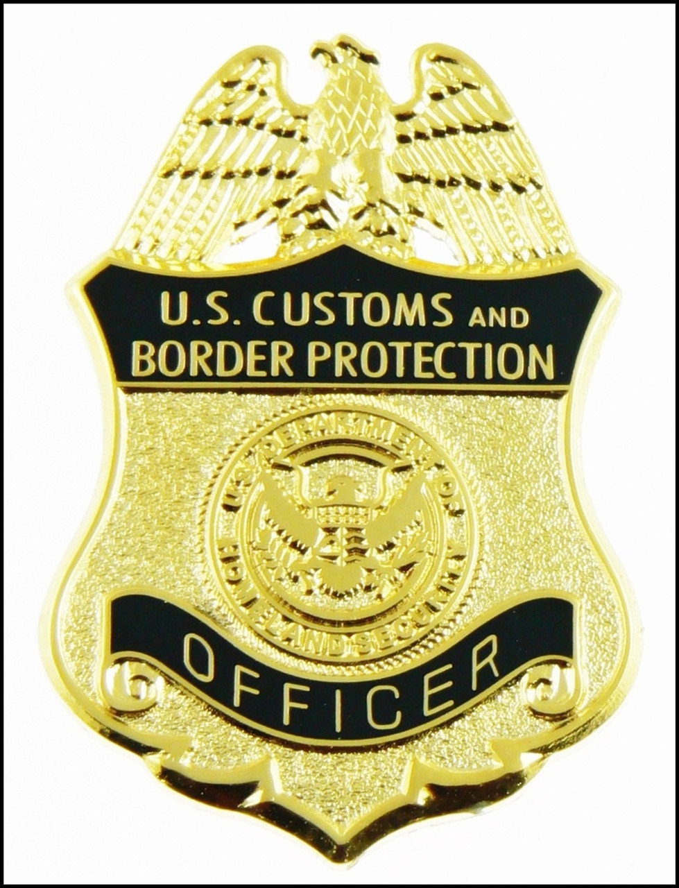 Customs and Border Protection Officer Mini Badge Magnet