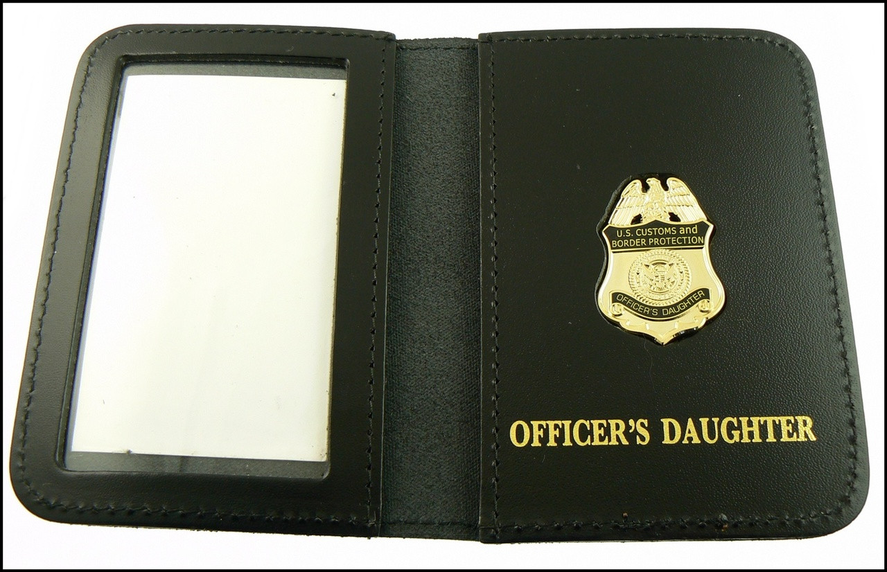 CBP Officers Daughter Mini Badge ID Case
