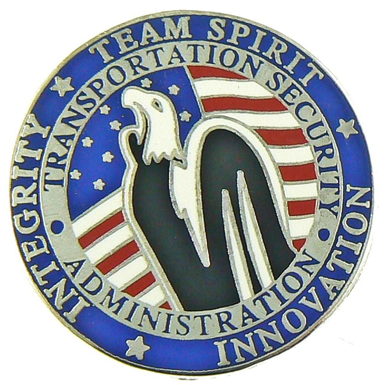 Transportation Security Administration Team Spirit Mini Patch Lapel Pin