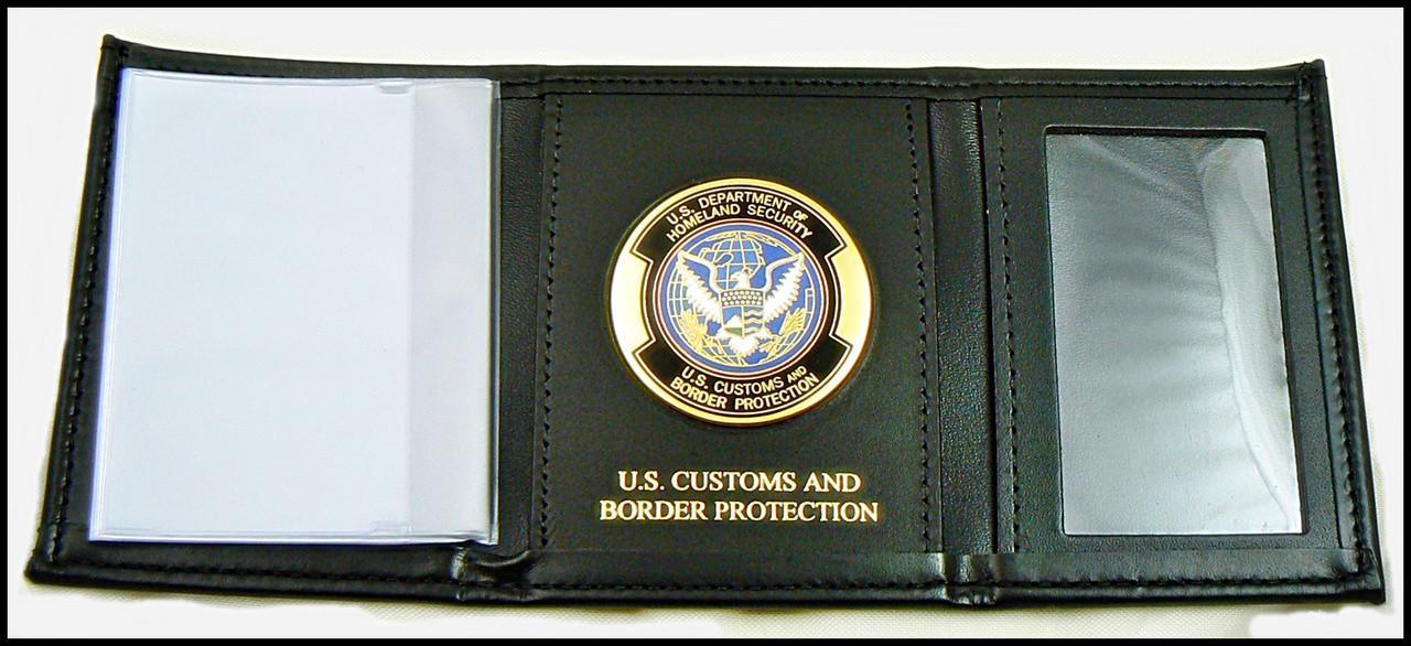 Customs and Border Protection Tri-Fold / OFO Medallion and Customs and Border Protection Embossing