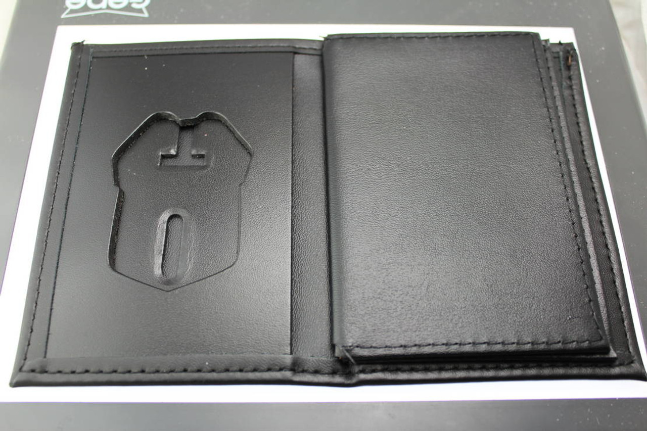 U.S. Secret Service Credential and Badge Wallet No Embossing - Badge Cut 2