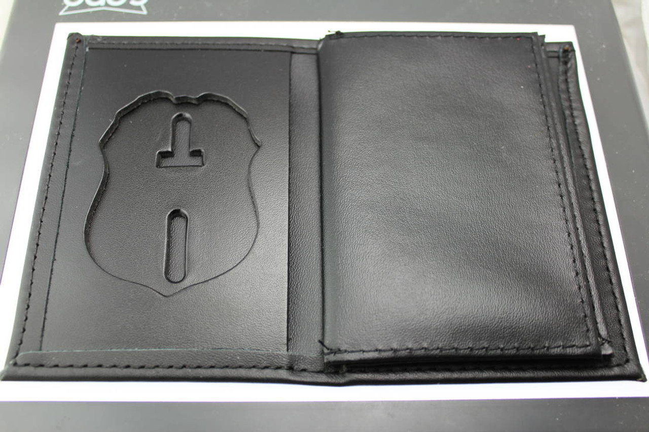 U.S. Secret Service Credential and Badge Wallet No Embossing - Badge Cut 1