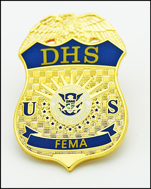 Federal Emergency Management Agency Mini Badge Lapel Pin