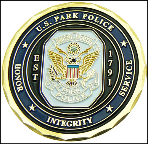 U.S. Park Police Challenge Coin - Front