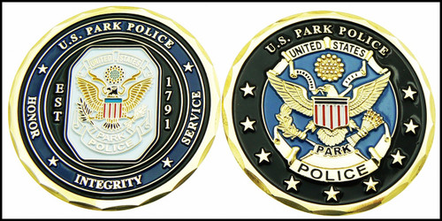 U.S. Park Police Challenge Coin