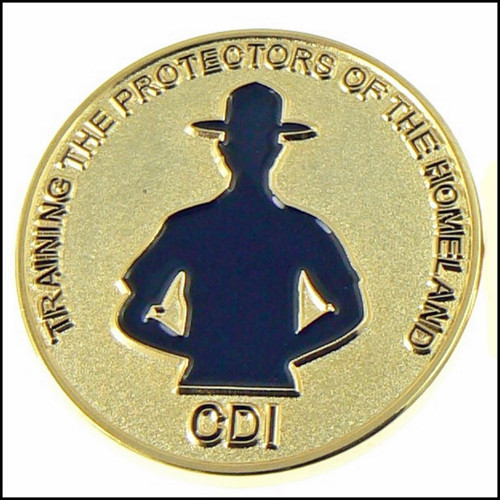 CBP Course Developer Instructor Challenge Coin - Front