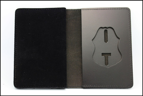 Customs and Border Protection Duty Leather Badge and Credential Case Badge Holder