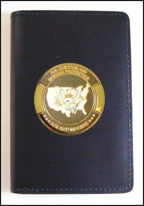 Air and Marine Operations Medallion Badge and Credential Case - AMO Logo