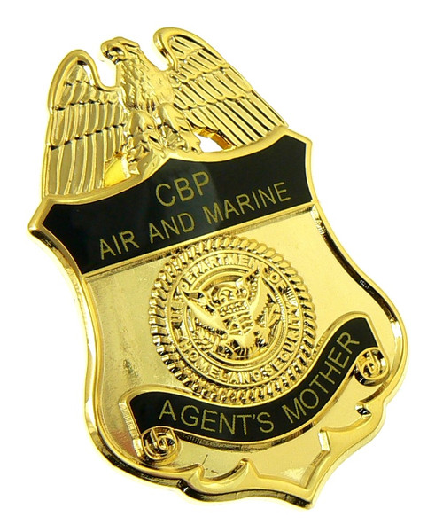 Office of Air and Marine Agent's Mother Mini Badge Lapel Pin