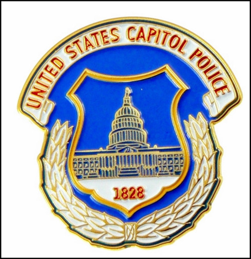 U.S. Capitol Police Mini Patch Lapel Pin