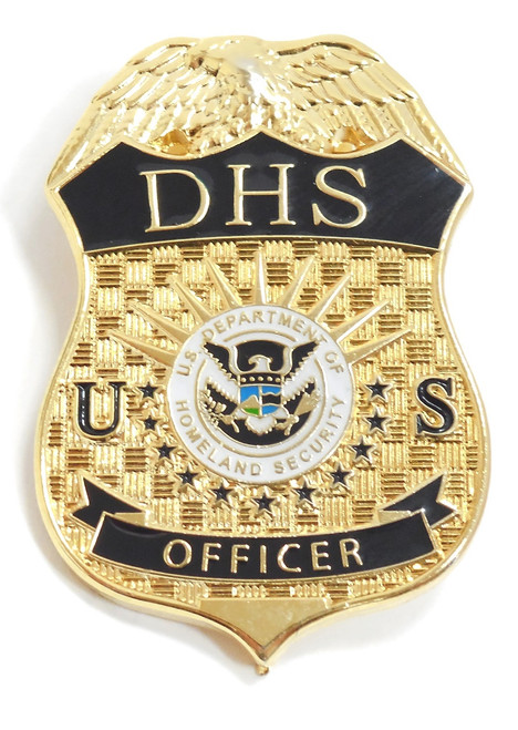 Department of Homeland Security Officer Mini Badge Refrigerator Magnet