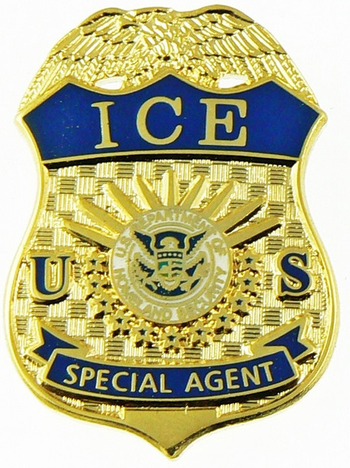 """Immigration and Customs Enforcement Special Agent Mini Badge Magnet - 1.5"""""""