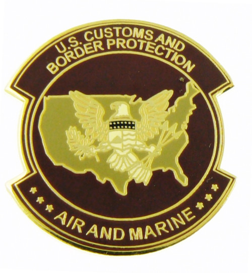 Office of Air and Marine Mini Patch Lapel Pin