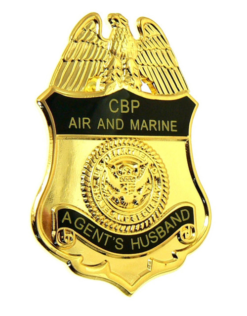 Office of Air and Marine Agents Husband Mini Badge Refrigerator Magnet