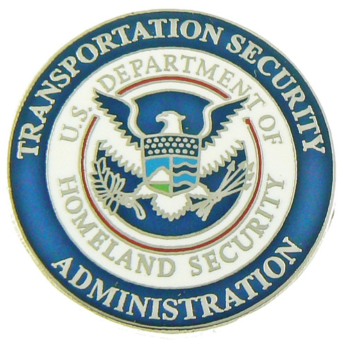 Transportation and Security Administration Mini Uniform Patch Refrigerator Magnet