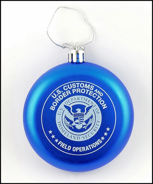 Customs and Border Protection, Office of Field Operations Christmas Ornament